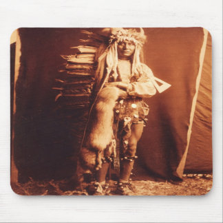 Iron Breast , a Piegan Native American Indian Mousepads