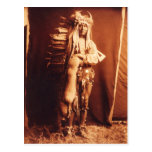 Iron Breast, a Piegan Native American Indian Postcard