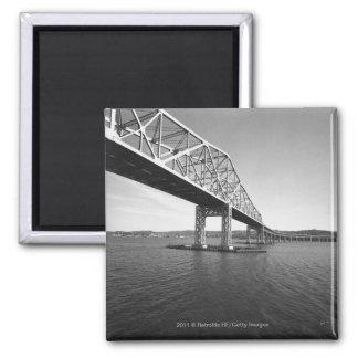 Iron bridge B&W Magnet