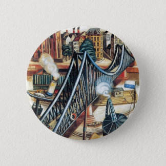 Iron Bridge by Max Beckmann Button