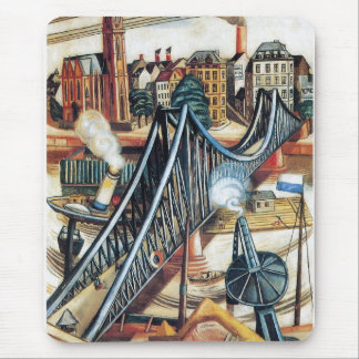 Iron Bridge by Max Beckmann Mouse Pad