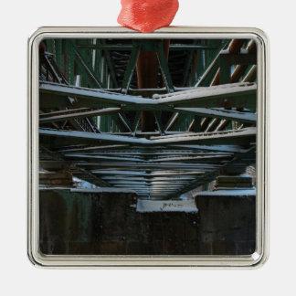iron bridge metal ornament