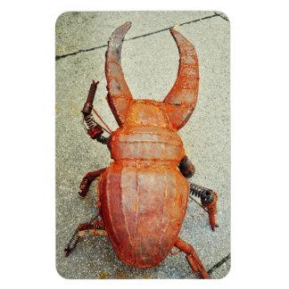 Iron bug magnets