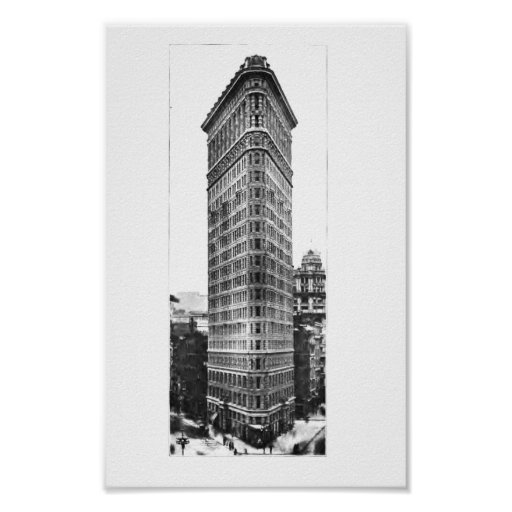 Iron Building Poster