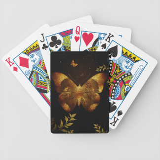 Iron Butterfly Bicycle Playing Cards