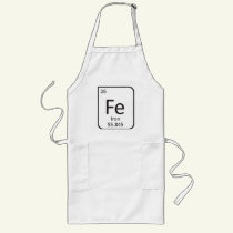 IRON CHEF APRON, Fe Element Long Apron
