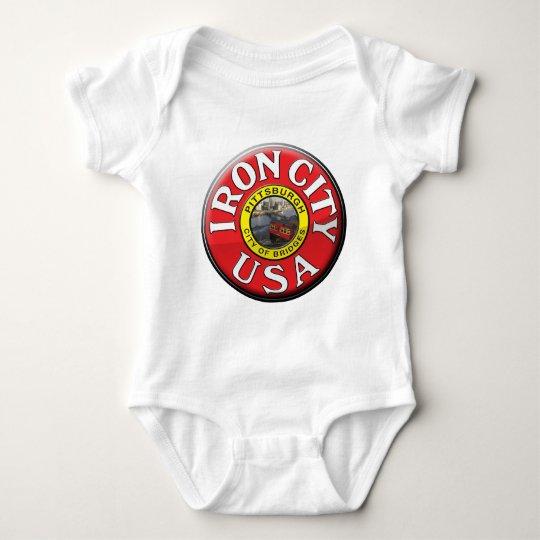 Iron City Baby Bodysuit