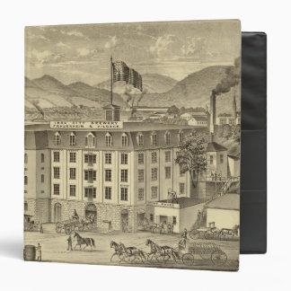 Iron City Brewery, Frauenheim and Vilsack Vinyl Binder