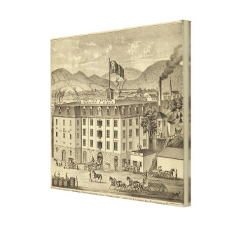 Iron City Brewery, Frauenheim and Vilsack Canvas Print