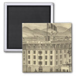 Iron City Brewery, Frauenheim and Vilsack 2 Inch Square Magnet