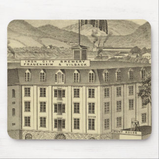 Iron City Brewery, Frauenheim and Vilsack Mouse Pad
