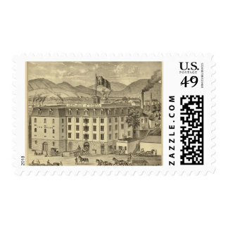 Iron City Brewery, Frauenheim and Vilsack Postage Stamps