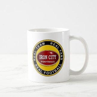 IRON CITY; Real Team, Real Fans, REAL FOOTBALL Coffee Mug