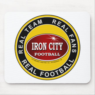 IRON CITY Real Team Real Fans REAL FOOTBALL Mousepad