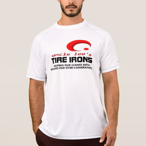 Iron Clad Reputation de tío Leo Camiseta