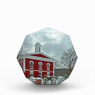 Iron County Courthouse Acrylic Award