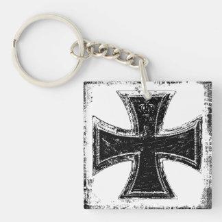 Iron Cross Acrylic Keychain