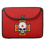 Iron Cross and Skull MacBook Pro Sleeves