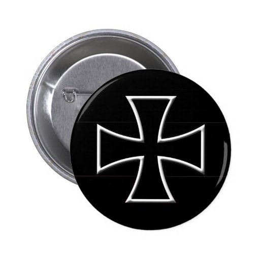 Iron Cross Pinback Button