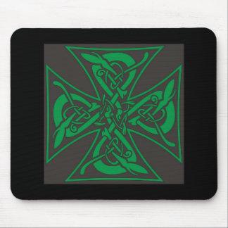 Iron Cross Celtic Mouse Pad