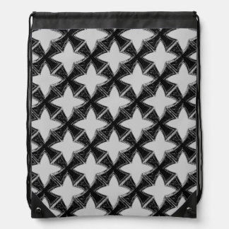 Iron Cross Drawstring Backpack