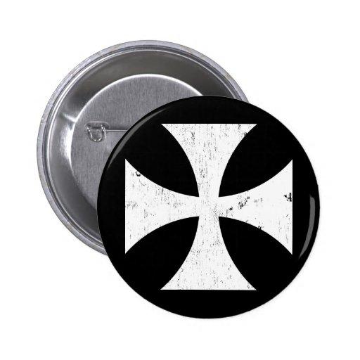 Iron Cross - German/Deutschland Bundeswehr Pinback Button