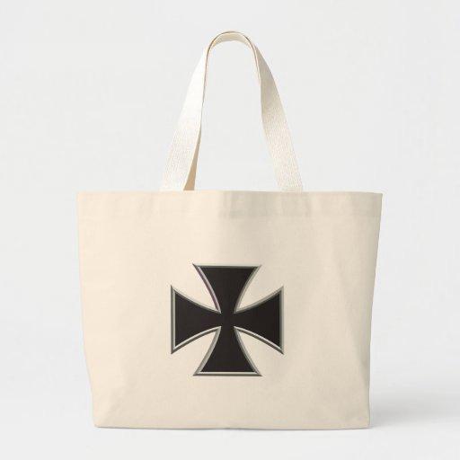 Iron Cross Jumbo Tote Bag