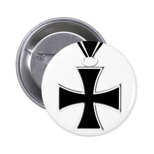 Iron Cross Medal Button