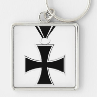 Iron Cross Medal Keychain