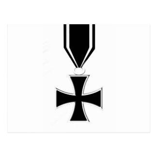 Iron Cross Medal Postcard