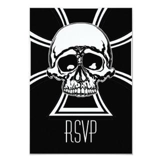 Iron Cross Military Emblem Skull Design by Beatty Card