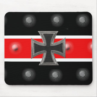 Iron Cross Mouse Pad