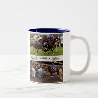 Iron Curtain 7-2-09 Tall Two-Tone Coffee Mug