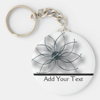Iron Daisy Basic Round Button Keychain