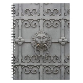 Iron Door with Lion Notebook