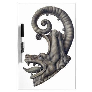 Iron Dragon Dry-Erase Whiteboard