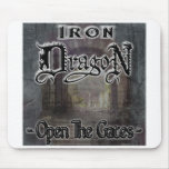 "Iron Dragon ""OPEN THE GATES"" Mouse Mats"
