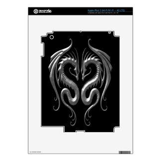 Iron Dragons dark iPad 3 Skins
