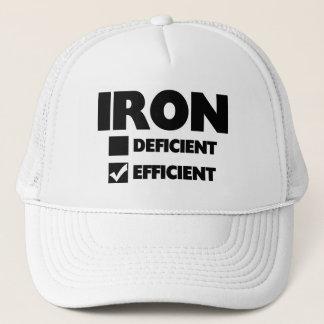 Iron Efficient Trucker Hat