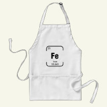 Iron (element) Chef Apron