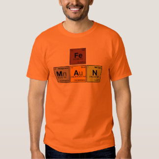 iron [Fe] man Tee Shirt