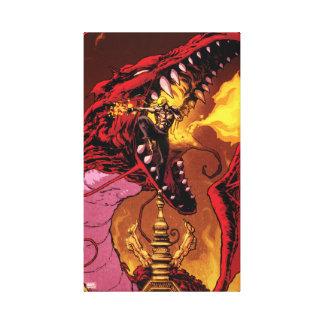 Iron Fist And Shou-Lau Canvas Print