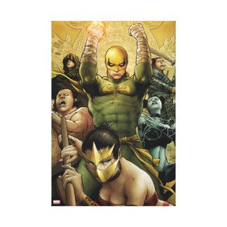 Iron Fist And The Immortal Weapons Canvas Print