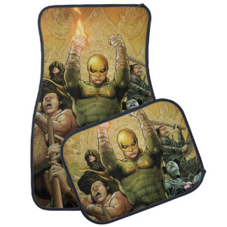 Iron Fist And The Immortal Weapons Car Floor Mat