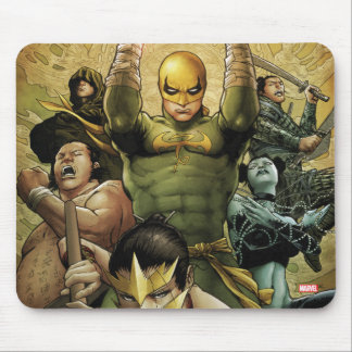 Iron Fist And The Immortal Weapons Mouse Pad