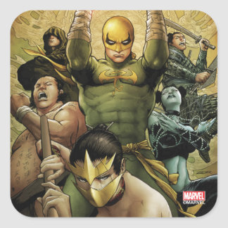 Iron Fist And The Immortal Weapons Square Sticker