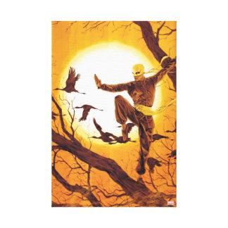 Iron Fist Balance Training Canvas Print