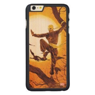 Iron Fist Balance Training Carved Maple iPhone 6 Plus Slim Case