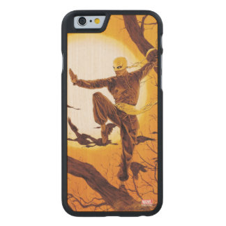 Iron Fist Balance Training Carved Maple iPhone 6 Slim Case