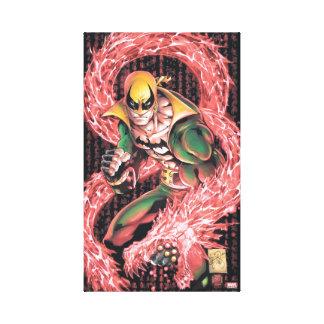 Iron Fist Chi Dragon Canvas Print